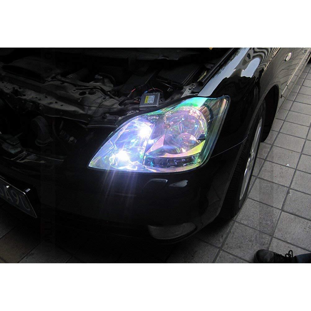 Voyago Headlight Film Yellow 30 x 120 cm Waterproof Car Headlight Film Tint Film Fog Light