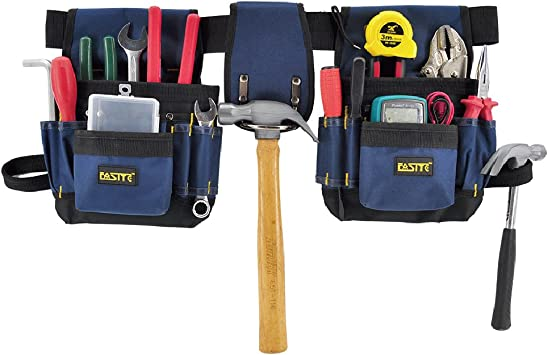Tools Bags 7 Pocket Holster Storage Holder Electrician Tool Pouch Belt Bags New