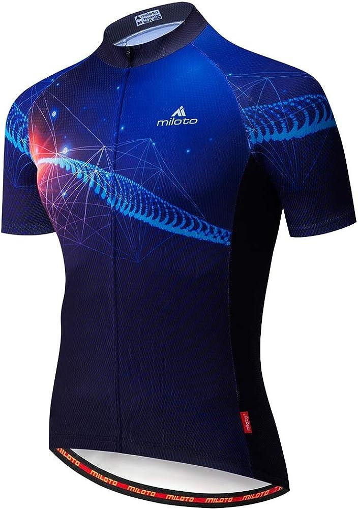 Uriah Men's Cycling Jersey Short Sleeve Reflective