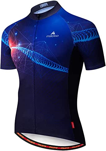 Uriah Men's Cycling Jersey Short Sleeve Reflective