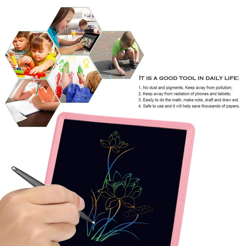 pour Enfants,Bureau,/école,Maison Bleu Ardoise Magique effa/çable Tableau NOBES Tablette d/écriture LCD Color/é 10 Pouces LCD /Écriture Tablette Dessin /électronique,Doodle Pad,Jouets /Éducatif
