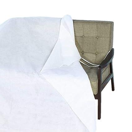 5 Mil Clear Plastic Furniture Sofa Cover Anti Dust Waterproof Moving/&Storage Bag