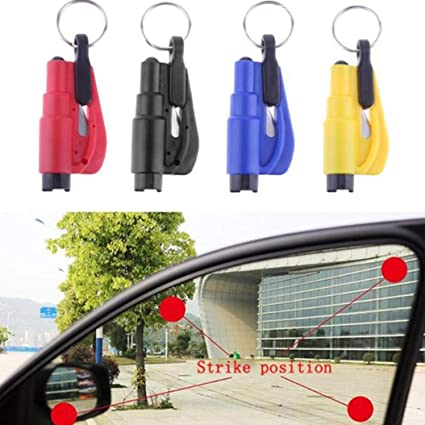 Amazon.com: Llavero Seat Safety Hammer Auto Glass Car Window ...