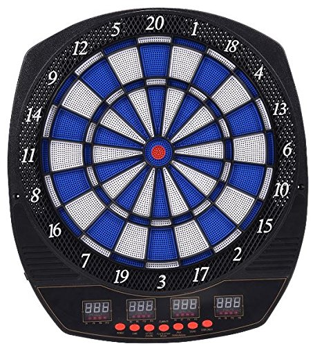 K&A Company LCD Display Arachnid Electronic Dart Board Set with 6 Darts 20'' x 18'' x 1'' 16 Players New Indoor Outdoor by K&A Company