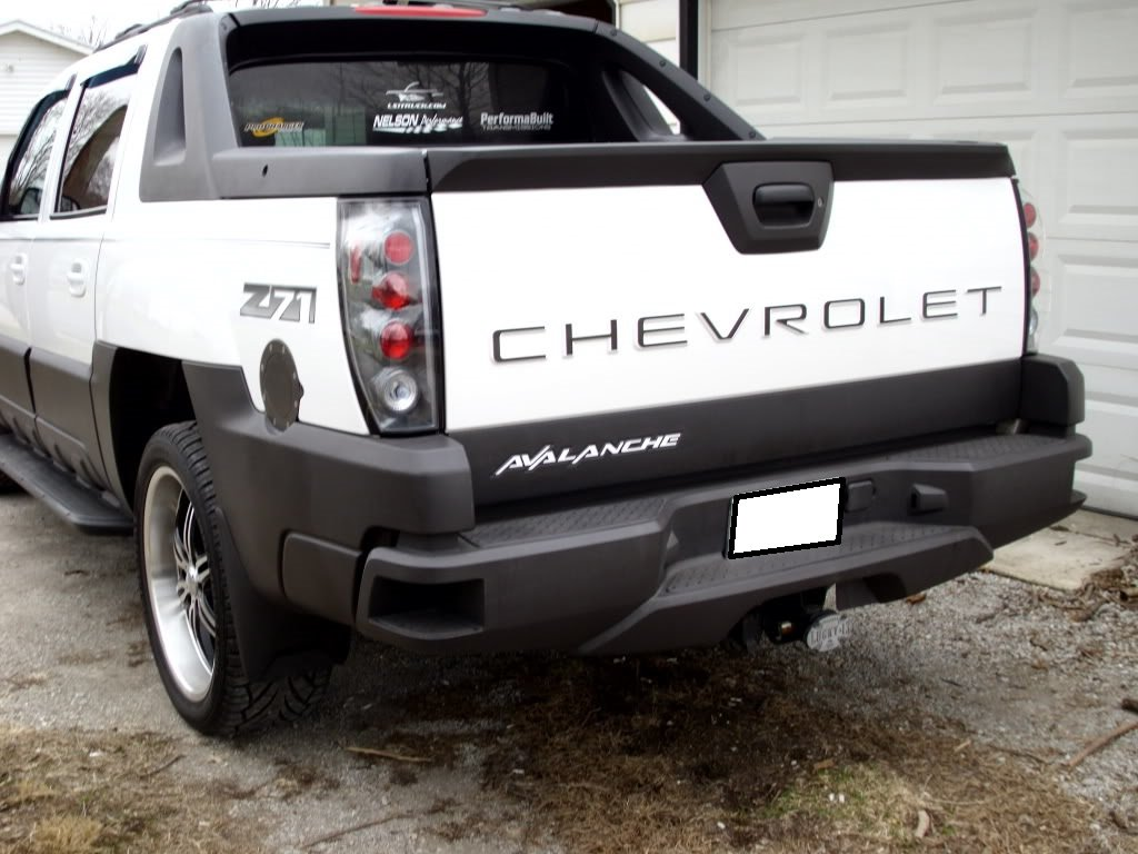 Avalanche chevy avalanche 2004 : Amazon.com: Chevrolet Avalanche Tailgate Insert Piano Black ...