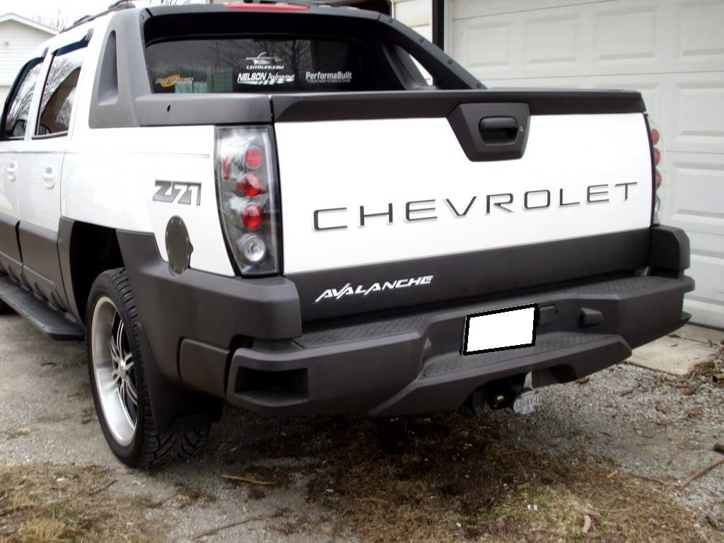 Avalanche chevy avalanche 2014 : Amazon.com: Chevrolet Avalanche Tailgate Insert Piano Black ...