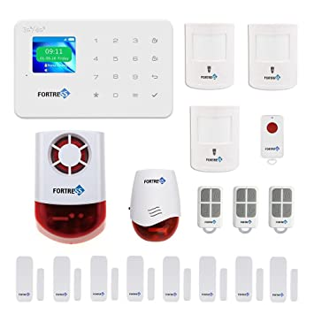 GSM 3G/4G Security Alarm  VEA Deluxe Pet Immune Wireless DIY Home And  Business