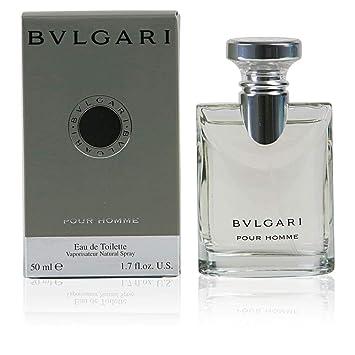 fcc7f1525e4 Bulgari Pour Homme Eau De Toilette Spray 50 ml  Amazon.co.uk  Beauty