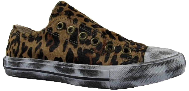 Naughty Monkey Womens Shalomar Leopard Slip-on Sneakers B07FKQL29F 7.5 B(M) US