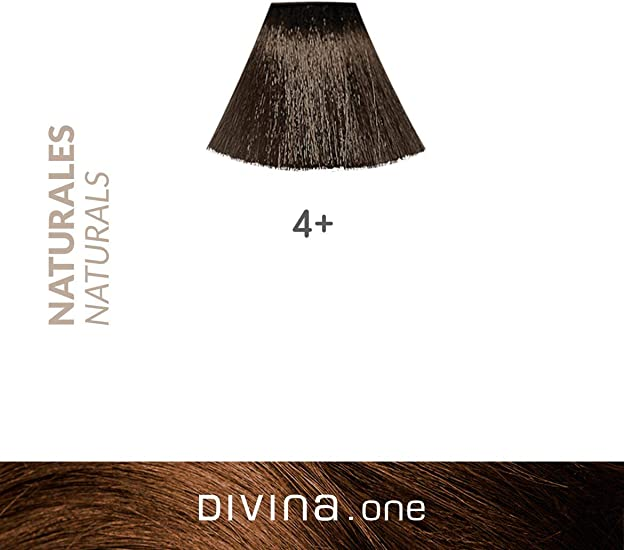 Eva Professional Hair Care Tinte Profesional Divina N.4+ 60 ml ...
