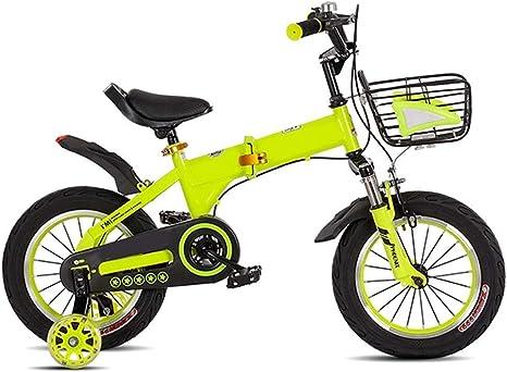 Bicicletas Niños Niño Niña 3-4-5-6 Años de Edad de Bicicletas ...