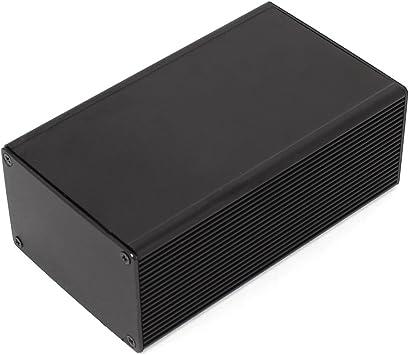 Aluminio Proyecto Caja Box Case Electrónica Eléctrico BRICOLAJE ...