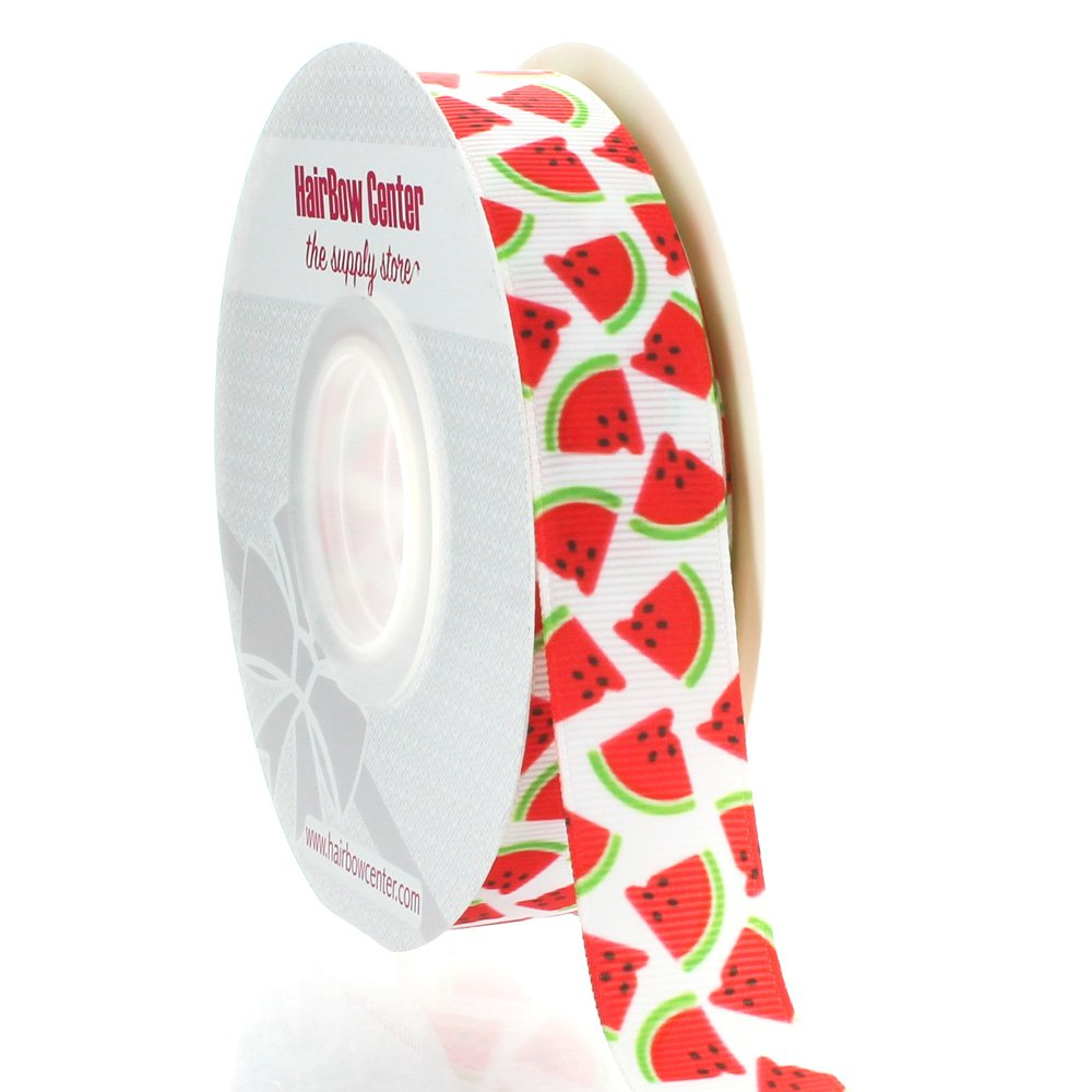 7/8 Watermelon Grosgrain Ribbon 25yd