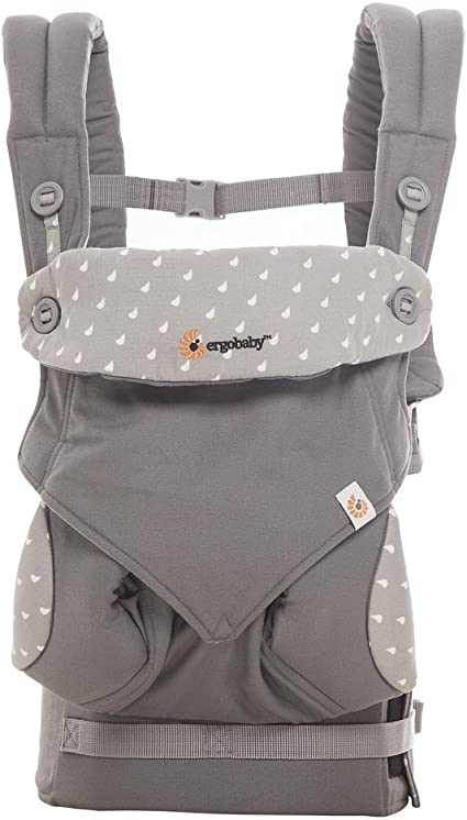 ergobaby four position 360 baby carrier gray