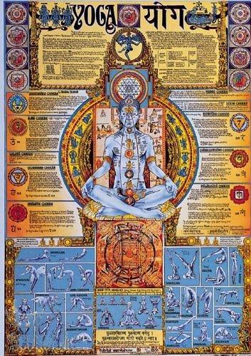 Yoga Chakra Poster 2013 Edition