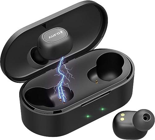 Wirreless Earbuds Bluetooth 5.0 Earphones IPX7 Waterproof Headphones Hi-Fi Stereo Mic in-Ear Sports Gym Running