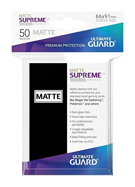 Amazon.com: Ultimate Guard UGD010808 Supreme UX Card Sleeves ...