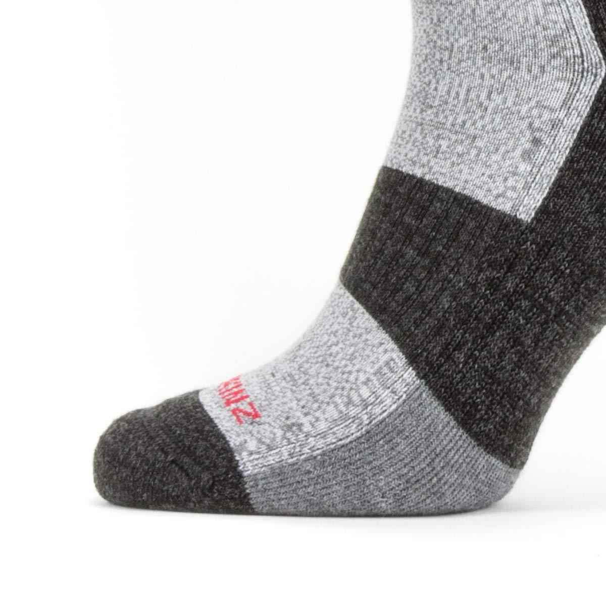 SealSkinz Herren Solo Quickdry Mid Length Socke