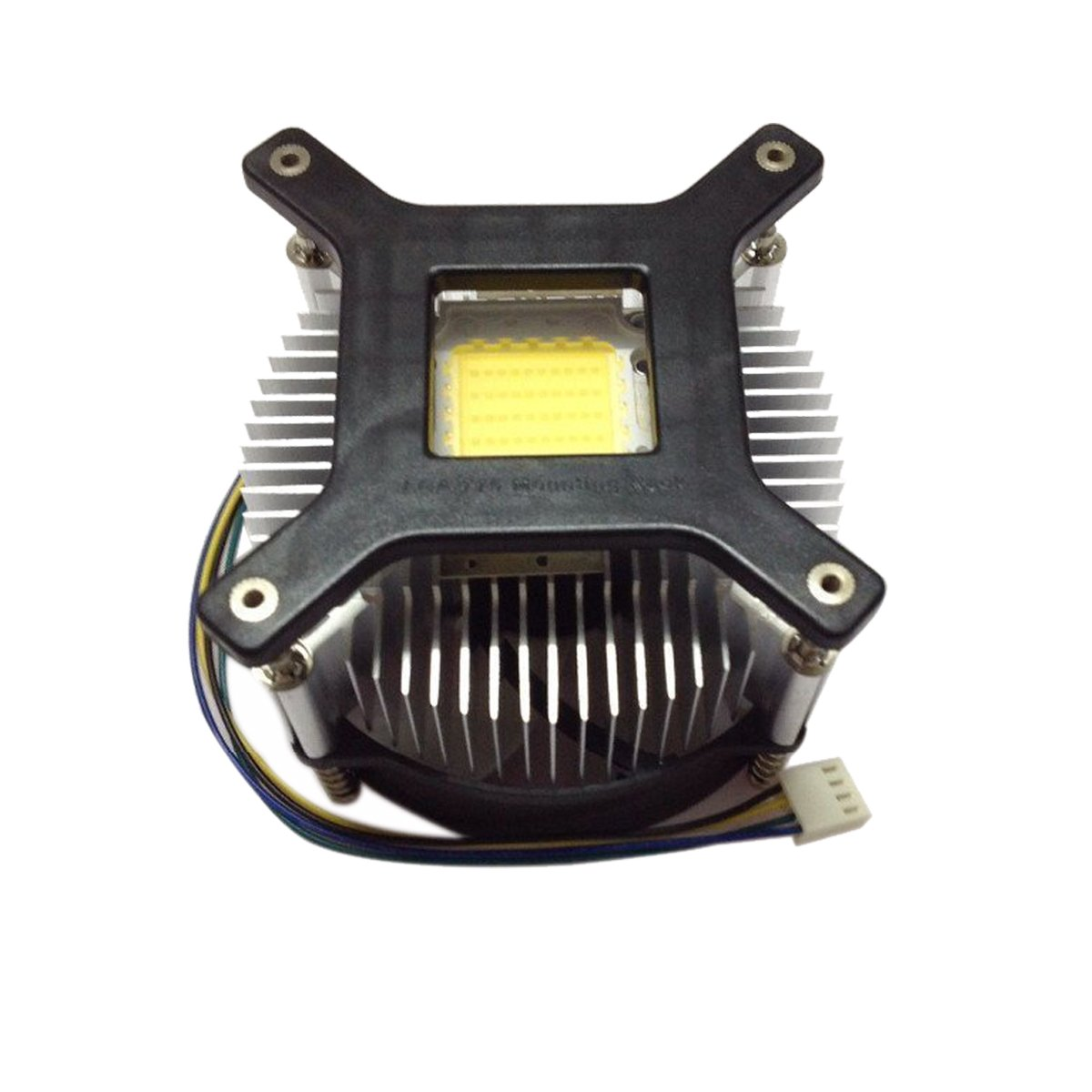 LED Fan Heatsink Radiator DC 12V For 50W 100W High Power LED Light and Chip