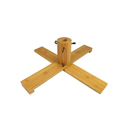 Amazon Com Vickerman Wooden Christmas Tree Stand For 6 5 7
