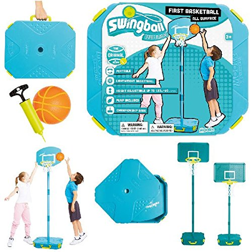 Swingball First Basketball All Surface