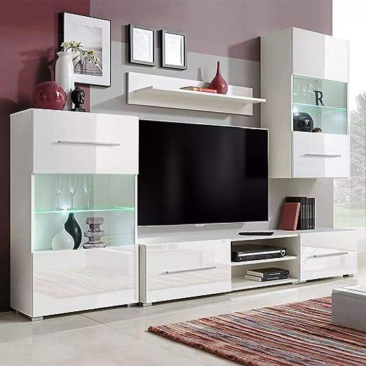 Tidyard Mueble Salón Comedor Moderno Mesa para TV Mueble TV de ...