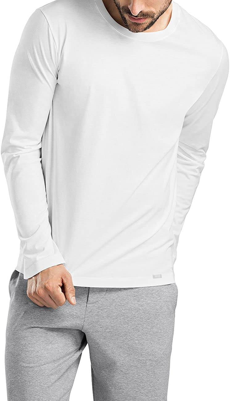 HANRO Mens Living Long Sleeve Shirt