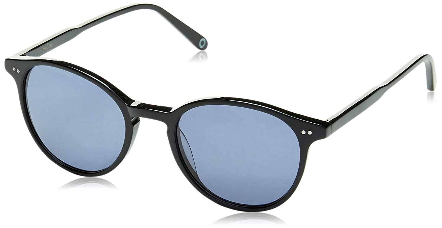 cceea86f305d Amazon.com  MAREINE Vintage Round Sunglasses Grey Lens Black Frame - Amazon  Vine  Clothing