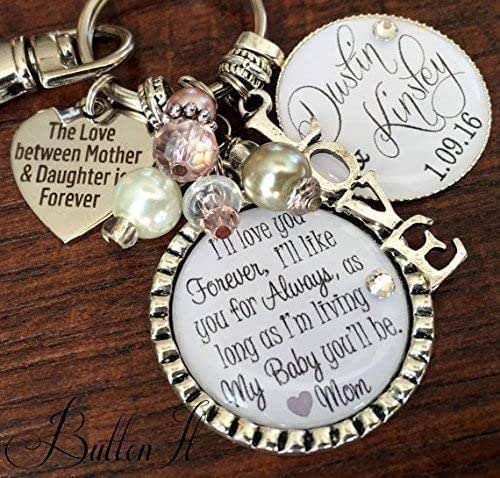Mother Daughter Wedding Gifts: Amazon.com: Bridal Bouquet Charm, Wedding Bouquet Charm