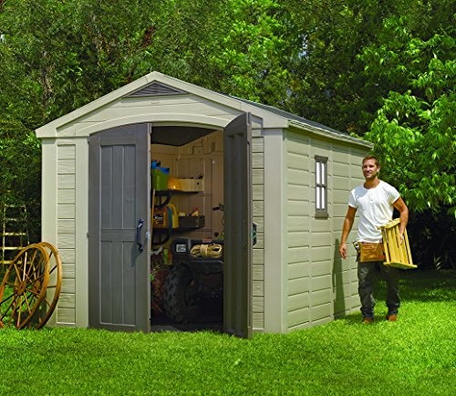 KETER Factor Resin Shed, 8 by 11 feet