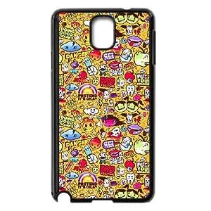 Samsung Galaxy Note 3 Cell Phone Case Black Graffiti Custom KHJSDSUKB4401