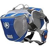 blackgoddy Sac à dos pour chien réglable style de Sacoche de selle pour chien Accessoire pour randonnée/Camping/Voyage (Taille M)