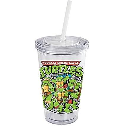 Amazon.com: Teenage Mutant Ninja Turtles Characters 16 Oz ...