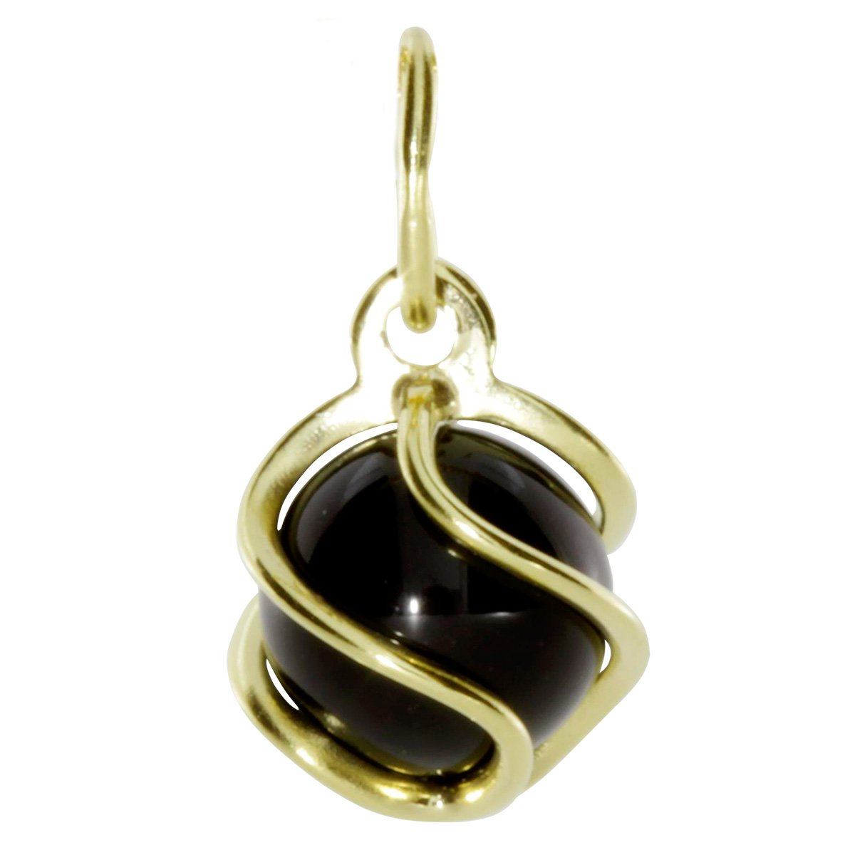 InCollections Damen-Anh/änger 333//000 Gold mit Onyx 0080100013401