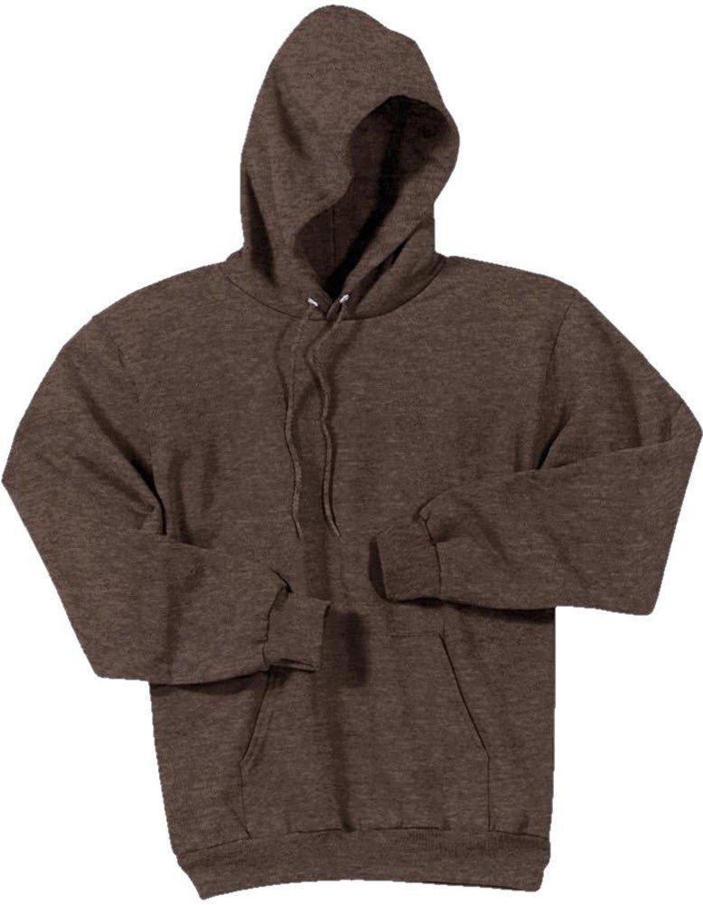 Joe's USA tm Hoodies - Mens Hooded Sweatshirts-Heather.Brown-3XL