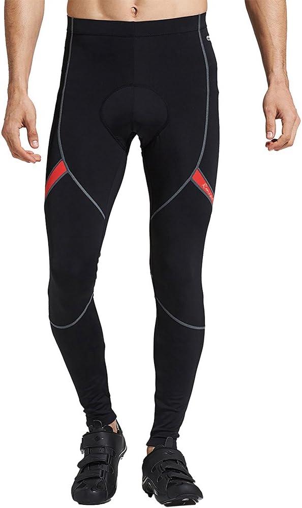 pantaloni per ciclismo da uomo pantaloni invernali per ciclismo pantaloni termici lunghi con cuscinetto imbottito traspirante 4D Rmine