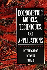 Econometric Models, Techniques, and Applications (2nd Edition) by Pearson