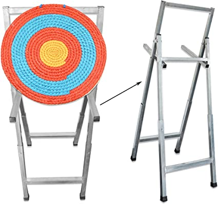 Amazon Com Nmcpy Archery Foldable Target Stand Shooting Targets Holder Target Bracket Frame For Hunting Training Practice Sports Outdoors Find images of arrow target. nmcpy archery foldable target stand