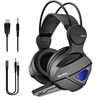 New bee Over-Ear 3.5mm Wired Gaming Headphones