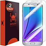 Galaxy S7 Edge Screen Protector, Skinomi TechSkin (2-Pack) Full Coverage Screen Protector for Galaxy S7 Edge Clear HD Anti-Bubble Film