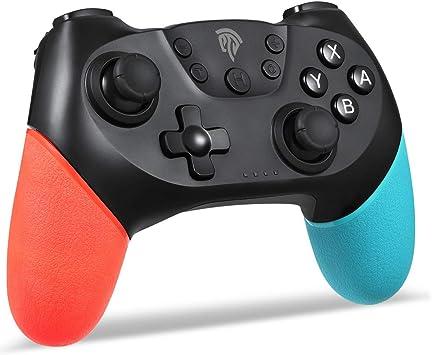 Controlador de juegos para Switch Pro, EasySMX Wireless Controller Gamepad Joypad remoto Joystick para Nintendo Switch Console Soporte Windows PC: Amazon.es: Videojuegos