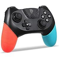 REDSTORM Mando para Nintendo Switch, Mando PC por Cable, Doble Vibración y TURBO, Bluetooth, Gamepad Inalámbrico de 6…