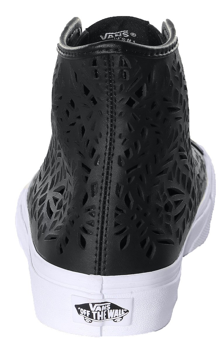 912c81e6ec6f ... Vans Womens Sk8-Hi Decon Leather Hight Top Lace up Fashion US Sneakers  B019KUYNE4 7 ...
