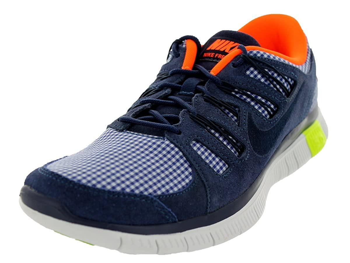 NIKE Free 5.0 Ext Qs Mens Sneakers Midnight NavyTotal