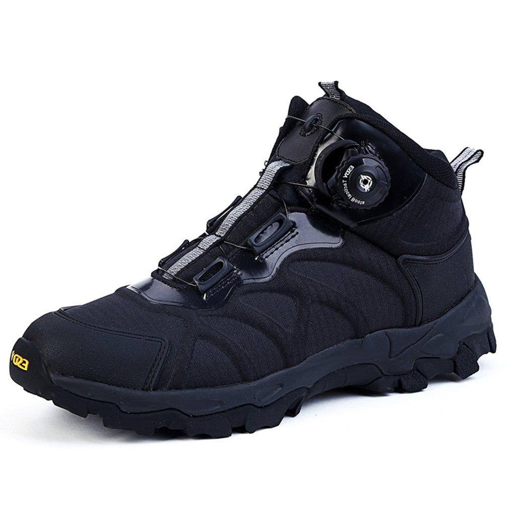 Emansmoer Herren Wasserdicht Atmungsaktiv Outdoor Sport Klettern Wandern Trekking Stiefel High-top Armee Combat Schuhe
