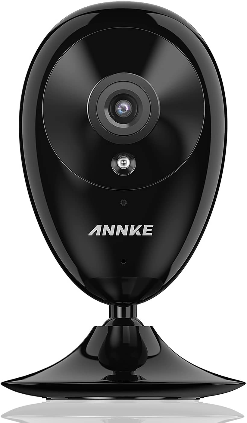 IP Camera, ANNKE Nova S 1080P HD WiFi Wireless Security Camera, Work with Amazon Alexa, Two-Way Audio, Cloud Service Available
