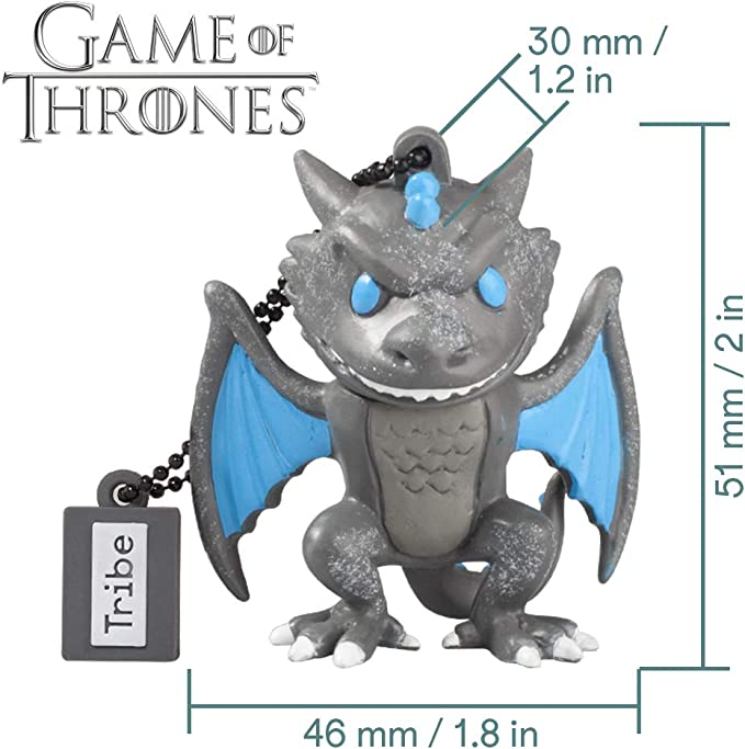Llave USB 32 GB Viserion - Memoria Flash Drive 2.0 Original Game ...