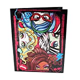 Mattel Monster High Two Pocket Portfolio Folders, 8 1/2