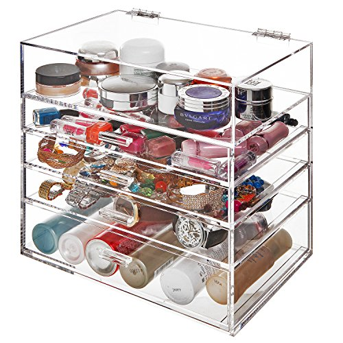 Acrylic Drawers Compartment Cosmetics Organizer
