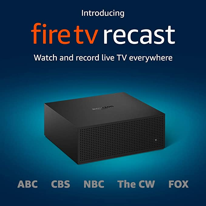 fire tv recast with dvr